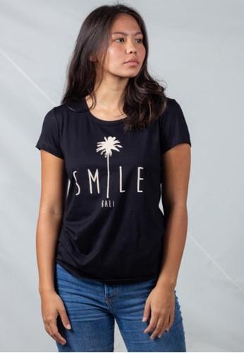 Bali Tees black Smile Tee 7DA8AAA480CF9AGS_1
