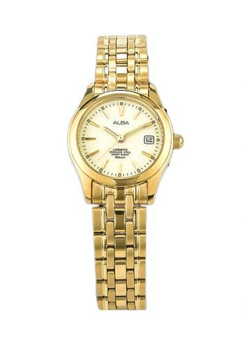 Alba gold ALBA Jam Tangan Wanita - Gold - Stainless Steel - AXT850X1 AF149AC6A42650GS_1