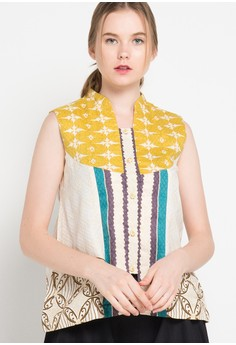 harga Banji Sleeveless Blouse Db 45 Rfp Soko Banji 50 Zalora.co.id