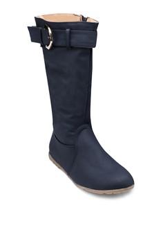 Apple 扣環高筒靴