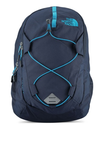 The North Face blue and multi Jester Backpack TH274AC0S7IWMY_1