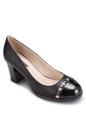 扣環粗跟淑女鞋,esprit 衣服 女鞋, 鞋