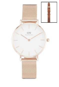 694661cbea5d4 Daniel Wellington Combo Box-Melrose 32mm Watch + Durham Strap RM 850.00.  Sizes One Size
