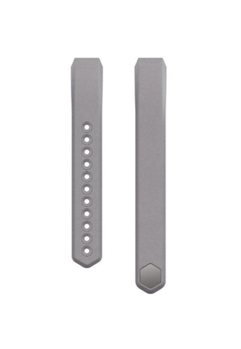 Fitbit grey Fitbit Alta Original Leather Accessories Band (Graphite) FI461SE17KYGMY_1