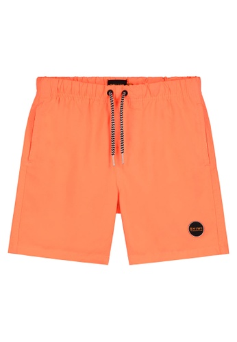 Shiwi orange Kids Mike Swim Shorts BAF72KA0B4EA77GS_1