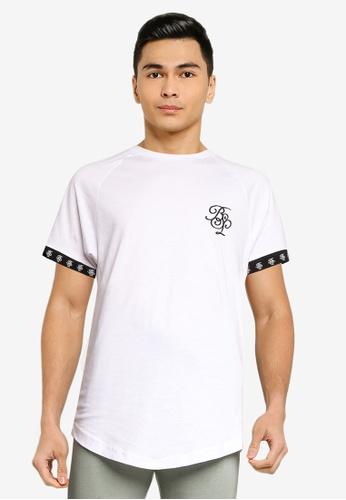 Brave Soul white Short Sleeve Crew Neck T-Shirt D586CAAA0E0224GS_1