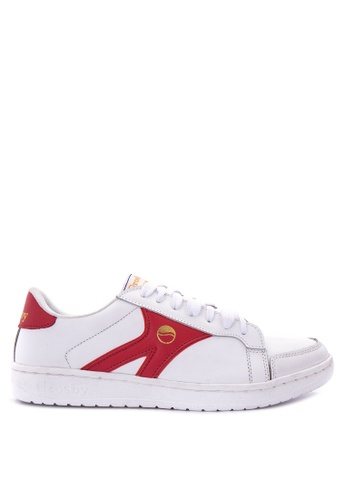 Grosby white and red Hit2 Sneakers GR420SH0J082PH_1