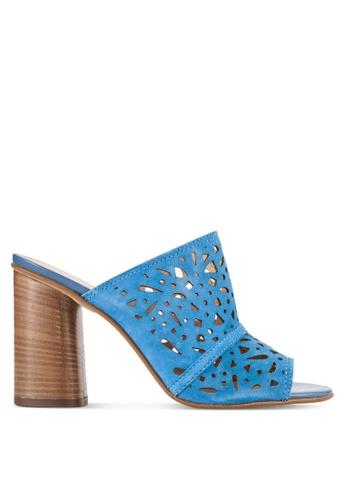 Carvela KG blue Kayla Block Heels CA459SH68UWTMY_1