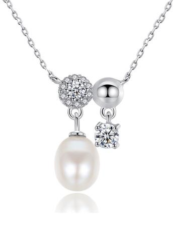 A.Excellence white Premium White Pearl Elegant Necklace B2D7DAC8937017GS_1