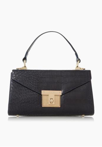 Dune London blue Dune London Eleganze Twistlock Shoulder Bag 6C1C1ACC54DFABGS_1