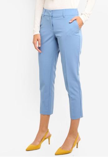 Dorothy Perkins blue Blue Split Hem Ankle Grazer E3DF0AAB707DEDGS_1