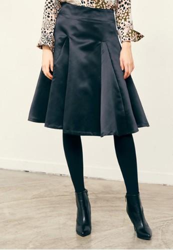 閃亮喇叭中zalora 心得裙, 服飾, 及膝裙