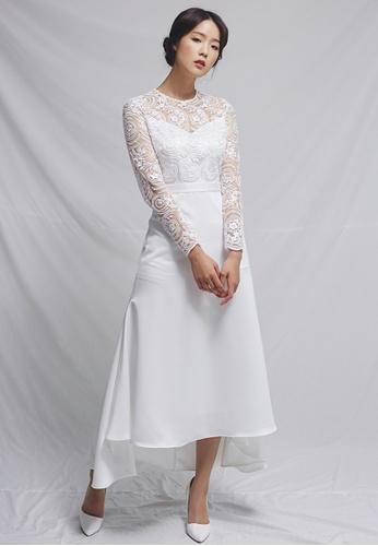 Clair de Lune white Sophia Dress CL525AA0GSABSG_1