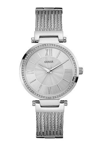 Guess Watch silver Guess Jam Tangan Wanita - Silver - Stainless Steel - W0638L1 05AABAC07649A9GS_1