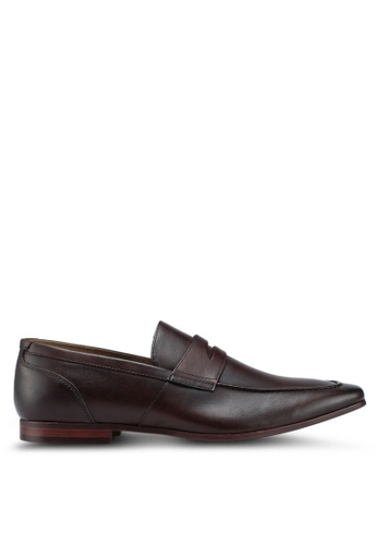 ALDO brown Madolian Loafers 9E1D6SHFCFAA05GS_1