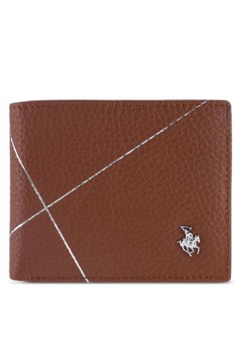 Swiss Polo brown Swiss Polo Bi-Fold Rfid Blocking Wallet 535C4AC0160C90GS_1