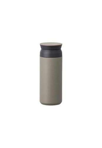 KINTO green Kinto Insulated Travel Tumbler Water Bottle 500ML Khaki C931AAC9E04074GS_1