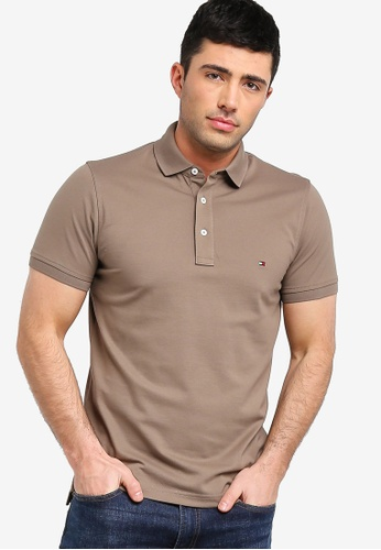 ea8068e0 Buy Tommy Hilfiger WCC TOMMY SLIM POLO Online on ZALORA Singapore