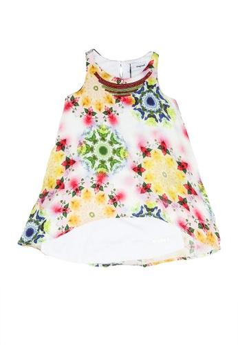 Desigual white Sleeveless Dress 5F96CKA614AEB1GS_1