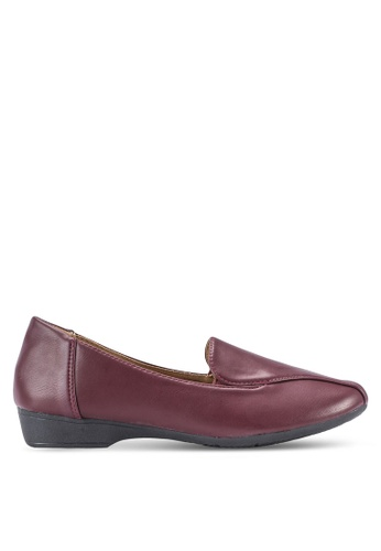 Louis Cuppers red Classic Loafers LO977SH48BDFMY_1