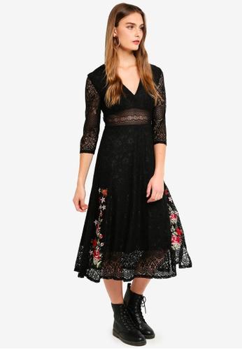 Desigual black Julil Dress 8C2F6AA23E14DAGS_1