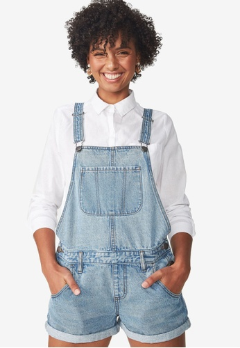 Cotton On blue The Classic Overall 2CA39AA0D3C38FGS_1