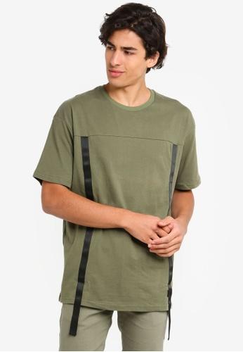 Flesh IMP 綠色 Oversized T恤 B3C48AA438FED8GS_1