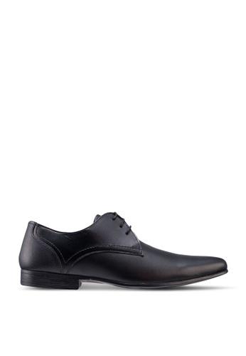Burton Menswear London 黑色 Black Sampson Business Shoes ABF68SH47E07CCGS_1