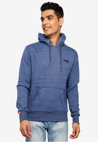 SUPERDRY blue Orange Label Cali Hoodie 66992AA6087E37GS_1