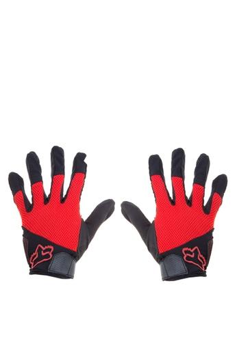 Fox Racing red Reflex Gel Gloves FO276AC0KAB4PH_1