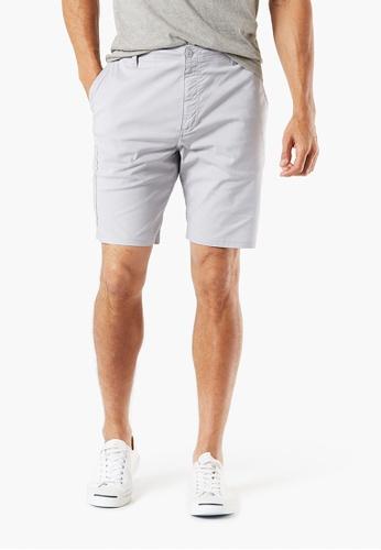e646a66f292 Dockers grey Dockers Utility Shorts, Straight Fit Men 69817-0001  45504AA5A93E86GS_1