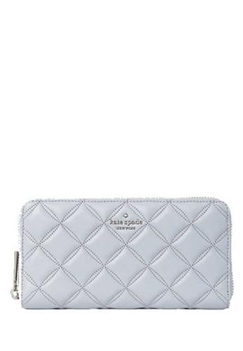KATE SPADE grey KATE SPADE Natalia Large Continental Wallet 15066ACA5DB815GS_1