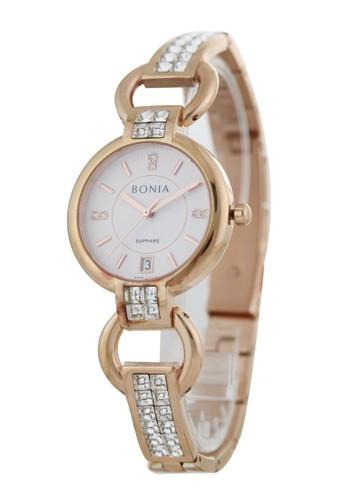 Bonia gold Bonia B10383-2512 - Jam Tangan Wanita - Rosegold C38ACACE4C1B76GS_1