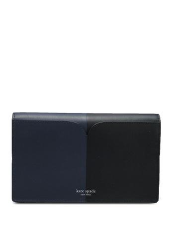 kate spade new york multi Nicola Bicolor Clutch Wallet (cv) 57C0AACD3FD3B1GS_1