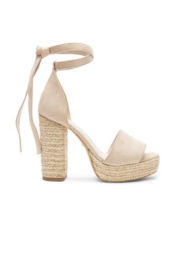 Raye brown and beige Aya Heel B26E2SH04BAFEBGS_1