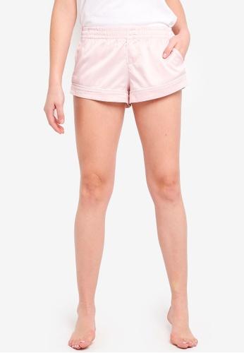 Abercrombie & Fitch pink Plain Sleep Shorts 657ADAAD7B5C6DGS_1