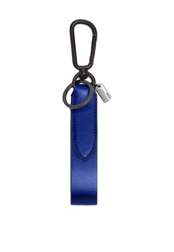 Coach blue Leather Loop Keyfob (cv) 5AD4CACE635A2AGS_1