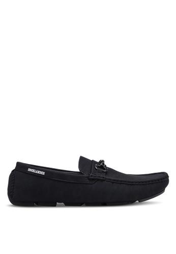 Rocklander black Metal Hardware Loafers 453DFSH6919FCEGS_1