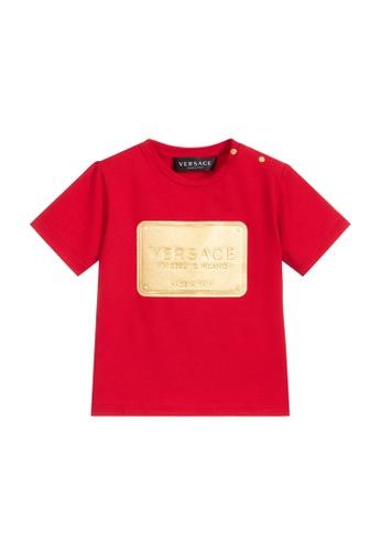 Versace red VERSACE BABIES T-SHIRT 45A4AKAB8B8C75GS_1