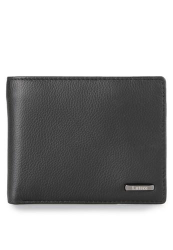 Lutece black Myles Trifold Wallet Horizontal 593 LU432AC0V1RCID_1