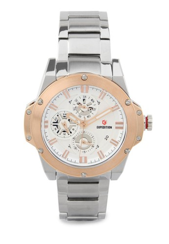 Expedition silver Expedition Jam Tangan - Silver Rosegold - Stainless Steel - 6696 BFBTRSL 36849AC7C16D94GS_1