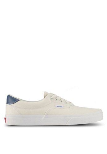 VANS white and blue Era 59 Sneakers VA142SH0SWREMY_1
