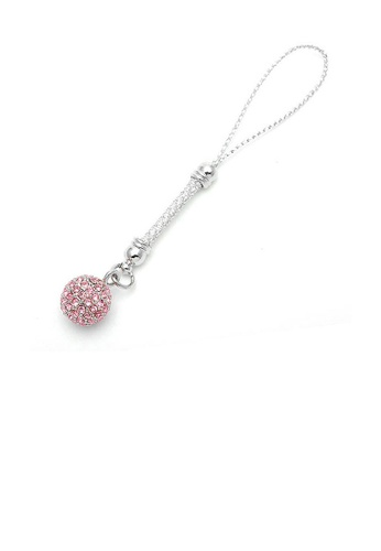 Glamorousky pink Elegant Ball Strap with Pink Austrian Element Crystals 02DC2AC41F0011GS_1