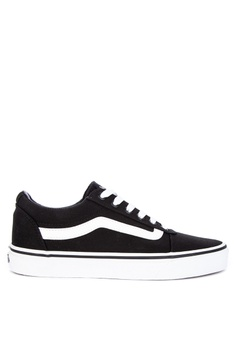 cfbbdcd02d1643 VANS black Canvas Ward Sneakers 0171BSH1FE4428GS 1