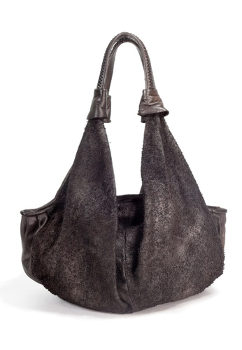 Shu Talk brown Reptile's House Leather Handbag DD7D2ACC72BA09GS_1
