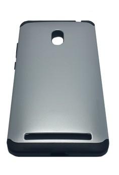 Sleek Shockproof Case for Asus Zenfone 6 (Silver)