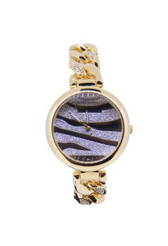 Japan Design 18K Gold Plating Chain Lady Watch