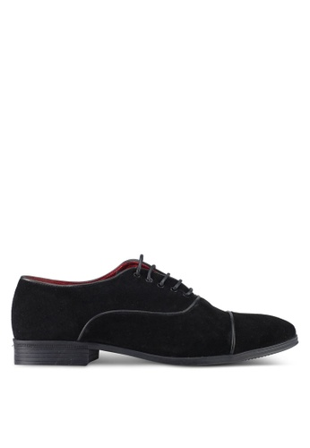 Acuto black Leather Shoes AC283SH0SL64MY_1