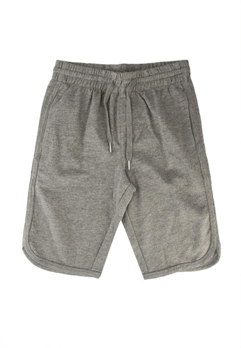 FOX Kids & Baby grey Drawstring Shorts B8A37KACDC31E6GS_1