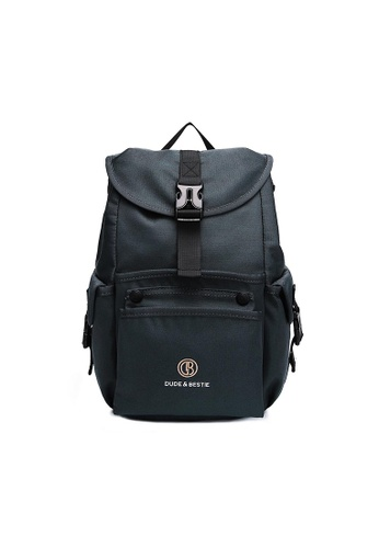 The Dude grey Mad Backpack 82486ACE301167GS_1